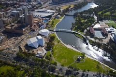Adelaide-Brücke Lizenzfreies Stockfoto