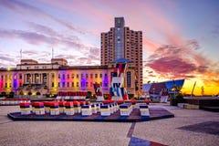 Adelaide Casino ed hotel intercontinentale Fotografia Stock Libera da Diritti