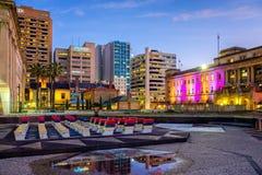 Adelaide Casino- und Festival-Piazza Stockfoto