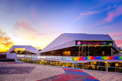 Adelaide Casino und Interkontinentalhotel Stockbild