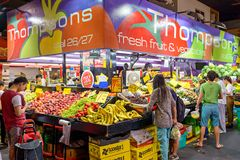 Adelaide Central Market Lizenzfreie Stockfotos