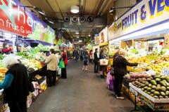 Adelaide Central Market Stockfoto