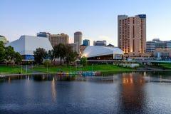 Adelaide City, Australia Fotografia Stock Libera da Diritti