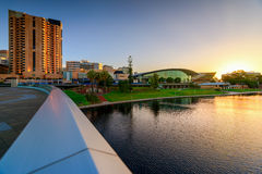 Adelaide City, Australia Royalty Free Stock Photo