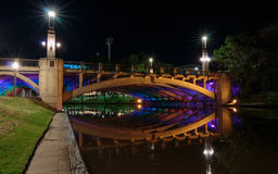 Adelaide City Bridge Royaltyfri Bild