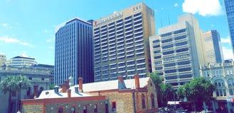 Adelaide City & x28; CBD& x29; arkivfoto
