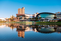 Adelaide City centre royalty free stock photo
