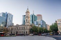 Adelaide city centre Stock Photos