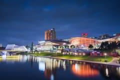 Adelaide City Scene Stockbilder