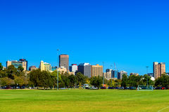 Adelaide city skyline Royalty Free Stock Image