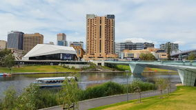 Adelaide City South Australia. The metropolitan area of Adelaide, South Australia. Adelaide city and the Adelaide Park Lands which surround North Adelaide and stock video footage