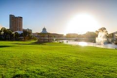 Adelaide City, Sul da Austrália Fotos de Stock Royalty Free
