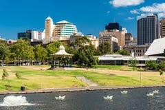Adelaide City, Sul da Austrália Fotos de Stock