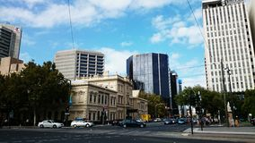 Adelaide City View Stock Photography