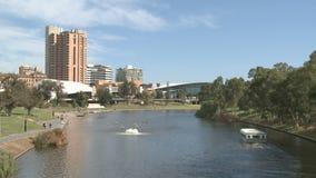 Adelaide Cityscape banque de vidéos