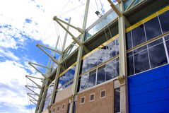 Adelaide de Samenvatting van het Stadion stock afbeelding