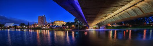 Adelaide Downtown arkivbild