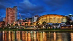 Adelaide Downtown royalty free stock photos