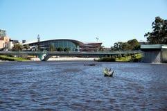 Adelaide Elder Park-Ansicht Stockfotografie