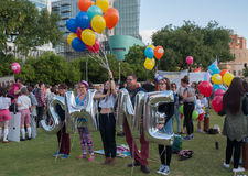 Adelaide Feast Pride Festival 2015 Royaltyfri Fotografi