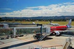 Adelaide-Flughafen Die Gezeiten waren herein an diesem Tag australien Lizenzfreie Stockfotografie