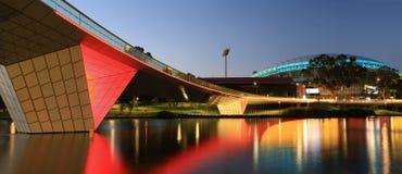 Adelaide Footbridge i Zdjęcie Royalty Free