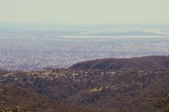 Adelaide Hills. Landscape nature city stock photography