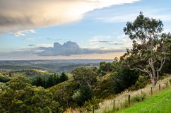 Adelaide Hills View. View over the Adelaide Hills Stock Photos