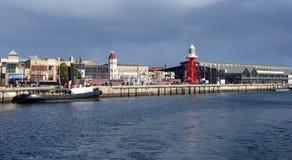 adelaide historisk port Arkivfoto