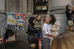 Adelaide Marriage Equality Royalty-vrije Stock Foto's