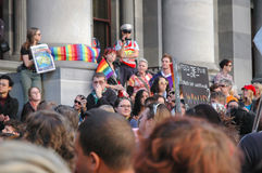 Adelaide Marriage Equality Photographie stock