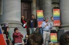 Adelaide Marriage Equality Photos stock