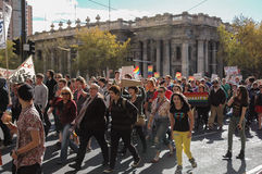 Adelaide Marriage Equality Stockfoto