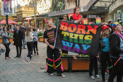 Adelaide Marriage Equality Stockbilder