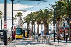 Adelaide metra tramwaj Zdjęcia Stock