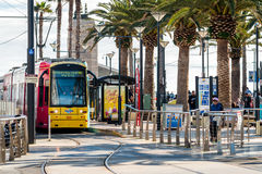 Adelaide Metro Tram Lizenzfreie Stockbilder