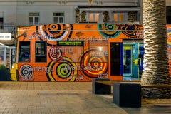 Adelaide Metro-Tram in Glenelg Stockfoto
