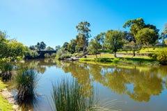 Adelaide miasta parklands Zdjęcia Royalty Free