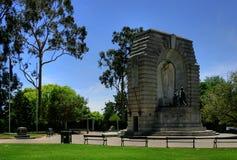 Adelaide - monumento nacional de la guerra Fotos de archivo