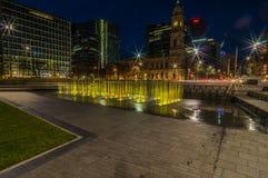 Adelaide Night 7 Lizenzfreie Stockfotografie
