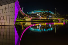 Adelaide Night 16 Immagine Stock