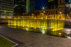 Adelaide Night 8. Adelaide, Australia - SEP 5, 2015: Night time shots showing some of Adelaides beautiful city highlights Stock Images