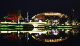 Adelaide nocy rzeczna fotografia Zdjęcie Stock