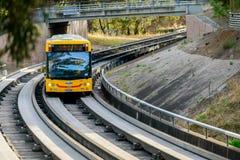 Adelaide O-Bahn Busway Lizenzfreies Stockbild