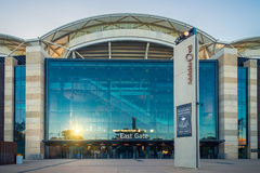 Adelaide Oval in the city, South Australia Royalty Free Stock Images