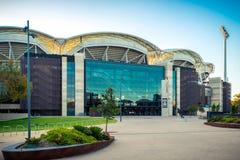 Adelaide Oval na cidade, Sul da Austrália Fotografia de Stock Royalty Free