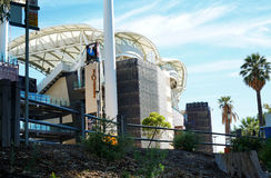 Adelaide Oval Stadium, South Australia. Royalty Free Stock Images