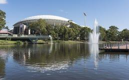 Adelaide Oval Stadium, sur de Australia fotos de archivo libres de regalías
