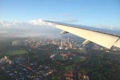 Adelaide-Oval von der Luft Stockfoto