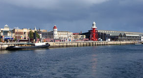 Adelaide portuaria histórica Foto de archivo